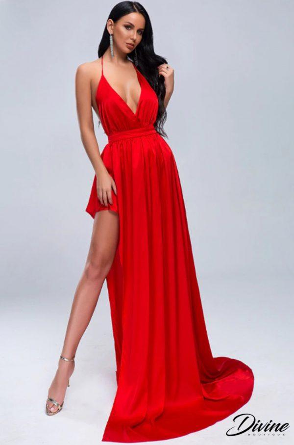 rochie de nunta rosie